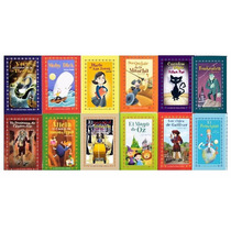 Paquete 12 Cuentos Para Niños Principito Gulliver Mago Oz