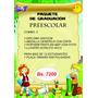 Combo 3 De Graduacion Preescolar Y Sexto Paquetes De Grado