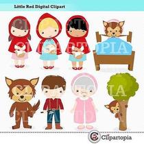 Kit Imprimible Caperucita Roja Imagenes Clipart