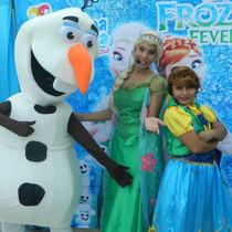 Botarga Olaf Frozen Elsa Ana Disfraz