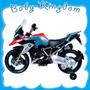 Moto Para Chicos A Bateria Bmw Kiddy Nueva Sonidos Reales