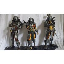 Predadores Estatua Em Resina Avp 3 Estatuas
