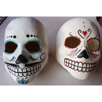 Catrina Mascara Latex Adultodisfraz Dia De Muertos Ofrendasi