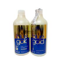 Escova Progressiva Alisante Inteligente Blue Gold 500ml