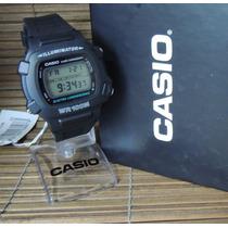 Relógio Casio Modelo: W-740-1vs - Nf + 1 Ano De Garantia