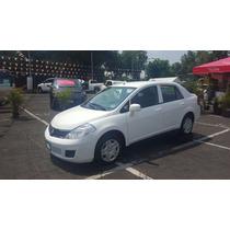 Nissan Tiida Sense 2015 Blanco Tm