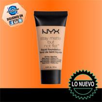 Base Liquida Mate Sin Grasa Nyx Profesional 100%original