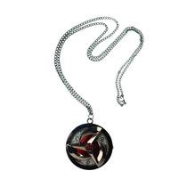 Naruto Reloj Collar Hoja Sharingan Sasuke