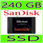 Ssd Sandisk Plus 240gb 520mb/s Sata 3 Notebook E Pc Original