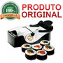 Máquina Para Enrolar Sushi Top Perfect Roll Larga Portatil