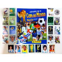 Album Panini Historia De La Copa Del Mundo // Completo /