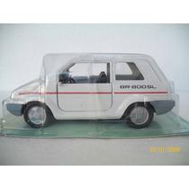 Miniatura Gurgel Clássicos Nacionais Gurgel Br 800 Sl 1989