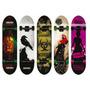 Skate Profesional Moolahh Doble Cola Maple 7 Capas Tail New