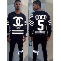 Sweater Sudadera Coco Chanel No 5