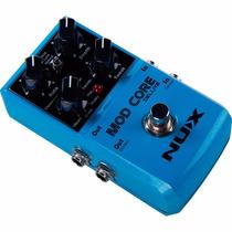 Pedal Mod Core Nux Multi Efeitos P/ Guitarra Mega Promoção