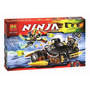 Ninja (ninjago) Blaster Bike 211 Pcs, Marca Bela