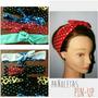 Pañoletas Cintillos Bandanas Para Niñas Y Damas Headbands
