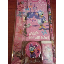 Set Escolar De 5 Piezas Para Niñas De Minnie Mouse Disney