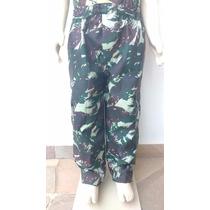 Calça Infantil Militar Camuflada - Exército