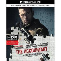 The Accountant - El Contador - Bluray Ultra Hd 4k + Bluray