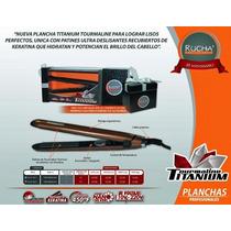 Plancha De Cabello Rucha Titanium Profesional