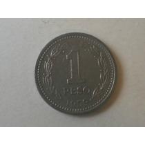 Moneda Antigua Argentina 1 Peso Moneda Nacional