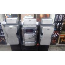 Mini Componente Sony Mod Mhc-2x30av Con Control Y Bocinas