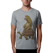 Camiseta Preguiça Blusas Moletom Regatas Engraçadas Sátiras