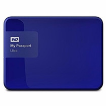 Disco Wd My Passport Usb 3.0 1tb 500gb Wdbgpu0010bbl