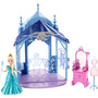 Boneca Disney Frozen Mini Castelo Com Elsa Mattel Cjv52 0569