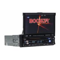 Dvd Automotivo Tela Retrátil 7 Polegadas Tv Bluetooth Sd Usb