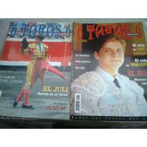Revistas Toros El Juli 6 Toros 6 De Colección Toreros