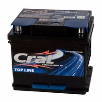 Bateria 45 Ah Cl45 Ve Ou Vd Cral Top Line 12 Meses Da Garant