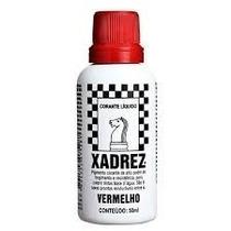 Corante Xadrex Vermelho 50ml(p/tintas Base Água)(2 Unidades)