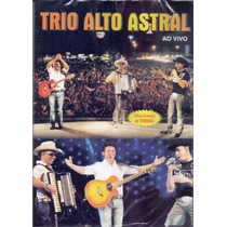 Dvd Trio Alto Astral - Ao Vivo - Novo***
