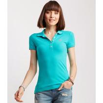 Camisetas Aeropostale Tipo Polo Mujeres Original Garantizado
