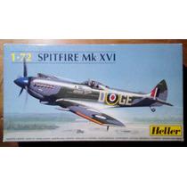 Maquete Spitfire Mk Xvi Escala 1/72 Heller