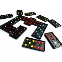 Jogo De Domino De Plastico Na Caixinha Divertido 7 Peças