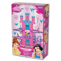 Castillo De Princesas Dos Ascensores 4 Princesas Musica Luz