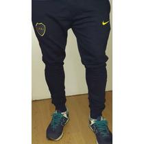 Pantalón Jogging Chupin Boca Junio Deportivo Frizado Babucha