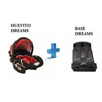 Huevito Bebe Butaca Auto Porta Bebe Hasta 14 Kg+ Base Dreams