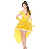 Disfraz Bella Princesa Bella Y Bestia Adul Halloween Y Envio