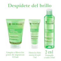 Set Despídete Del Brillo Facial Sebo Vegetal