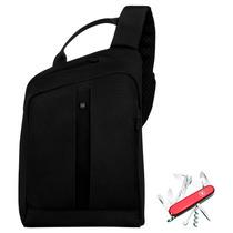 Kit Victorinox Bolso Gear Sling + Navaja 14 Usos Envío Grati