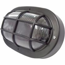 Luminária Arandela Tipo Tartaruga P/ Parede Externa Preta