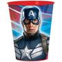 Vaso Plástico Importado Cotillon Capitán América -vengadores