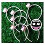 Vinchas Hello Kitty Orejas De Gato Kawaii Cute X6 Sanrio