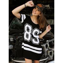 Vestido College 86 Ou 89 Clássico Lançamento Ótimo Preço