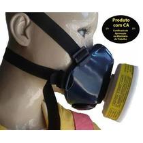 Máscara Semi Facial C/filtro Pintura/cabeleiras/ind.química