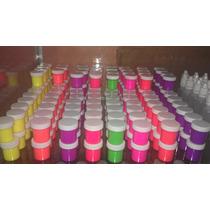 Pinturas Acrílicas Natural Y Neon Elegance Nails